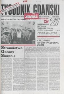 Tygodnik Gdański, 1990, nr 27