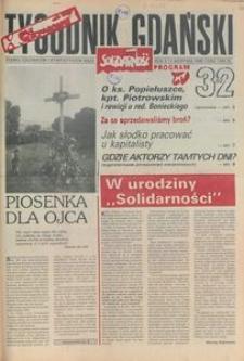 Tygodnik Gdański, 1990, nr 32
