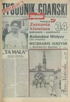 Tygodnik Gdański, 1990, nr 34