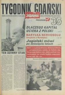 Tygodnik Gdański, 1990, nr 35