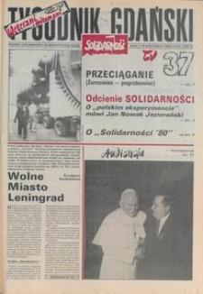 Tygodnik Gdański, 1990, nr 37