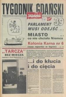 Tygodnik Gdański, 1990, nr 39