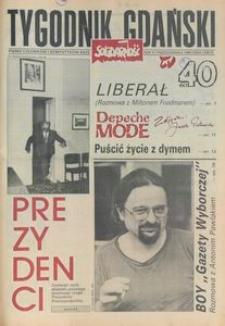 Tygodnik Gdański, 1990, nr 40