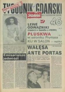 Tygodnik Gdański, 1990, nr 46
