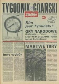 Tygodnik Gdański, 1990, nr 47