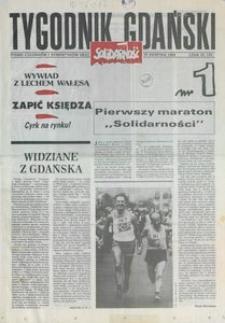 Tygodnik Gdański, 1989, nr 1
