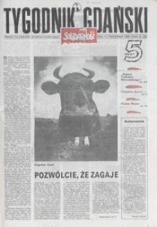 Tygodnik Gdański, 1989, nr 5
