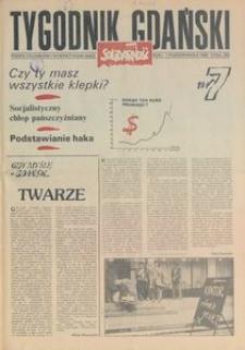 Tygodnik Gdański, 1989, nr 7