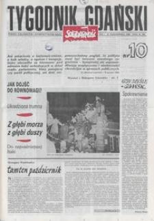 Tygodnik Gdański, 1989, nr 10