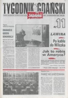 Tygodnik Gdański, 1989, nr 11