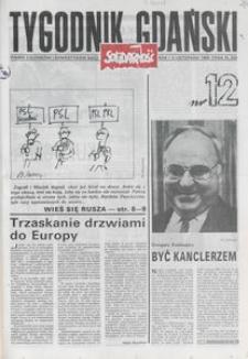 Tygodnik Gdański, 1989, nr 12