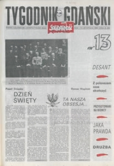 Tygodnik Gdański, 1989, nr 13