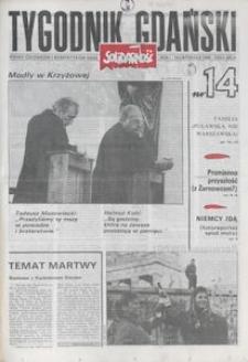 Tygodnik Gdański, 1989, nr 14
