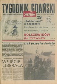 Tygodnik Gdański, 1991, nr 2