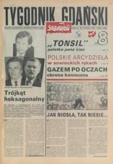 Tygodnik Gdański, 1991, nr 8