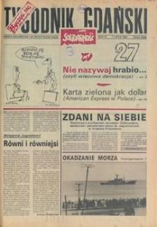 Tygodnik Gdański, 1991, nr 27