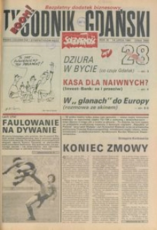 Tygodnik Gdański, 1991, nr 28