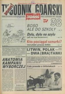 Tygodnik Gdański, 1991, nr 38