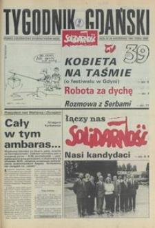 Tygodnik Gdański, 1991, nr 39