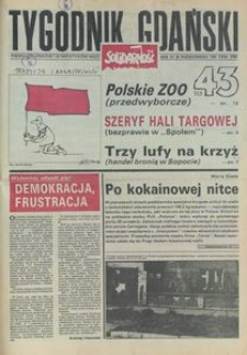 Tygodnik Gdański, 1991, nr 43