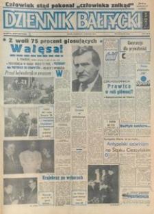 Dziennik Bałtycki, 1990, nr 287