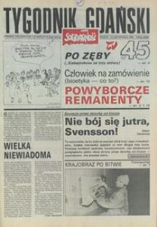 Tygodnik Gdański, 1991, nr 45