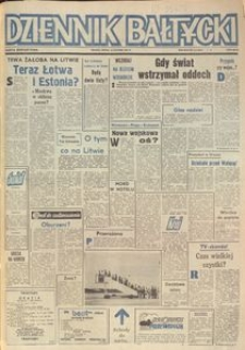 Dziennik Bałtycki, 1991, nr 13