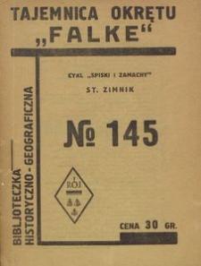 Tajemnica okrętu Falke : przygody Polaków w wyprawie na zdobycie Wenezueli w roku 1929