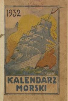 Kalendarz morski [na rok 1932]