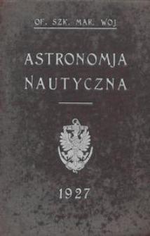 Astronomja nautyczna