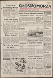 Głos Pomorza, 1984, listopad, nr 265