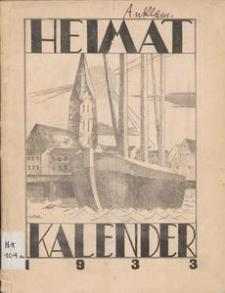 Heimat-Kalender für Stadt und Kreis Anklam 1933