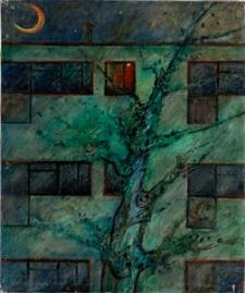 Obraz olejny - Noc