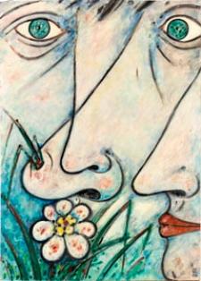 Obraz olejny - Twarze 2