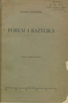 Forum i Bazylika