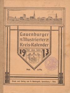 Lauenburger Illustrierter Kreiskalender für das Jahr 1913
