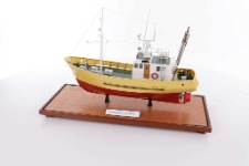 Model kutra rybackiego drewnianego KU 130 - projekt