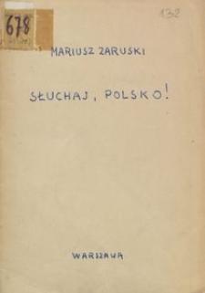 Słuchaj, Polsko!