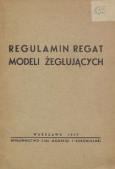 Regulamin regat modeli żeglujących