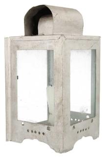 Lampa oświetlenia wagonu ze świeczką