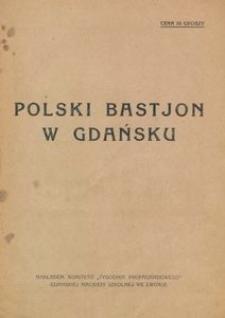 Polski bastjon w Gdańsku