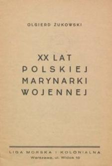 XX lat Polskiej Marynarki Wojennej