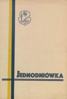 Jednodniówka Junaków z cenzusem grupy obozów letnich morskiego rejonu W.F. i P.W. w Borkowie. Wydana na dzień zakończenia obozu 9 lipca 1939 roku