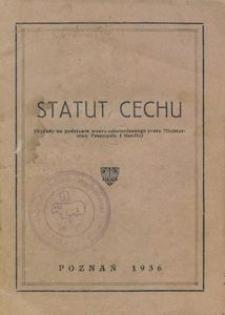 Statut Cechu Rzeźnicko-Wędliniarskiego