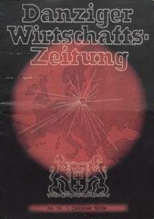 Danziger Wirtschaftsheft Zeitung, 1939, nr 19