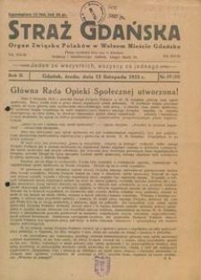 1933-11-15, Straż Gdańska,1933, nr 19