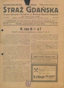 1935-07-15, Straż Gdańska, 1935, nr 22