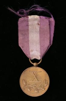 Brązwy Medal za Długoletnią Służbę ; Dyplom