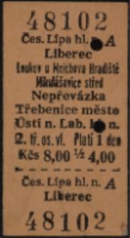 Bilet kolejowy 48102