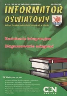 Informator Oświatowy, 2004, nr 5